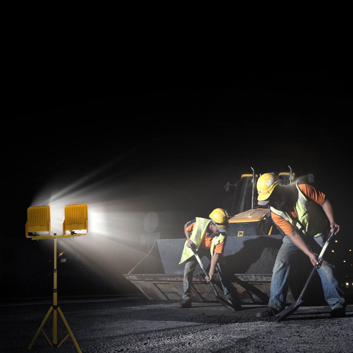 V-TAC LED Work Lights Bring Safety & Efficiency To Work Sites